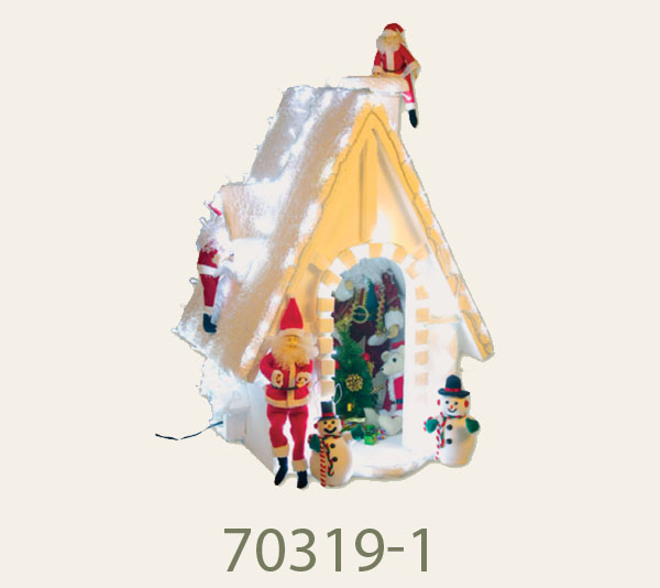 70319-1 Dimension3FT<br/>Snowy house (exclude dolls)