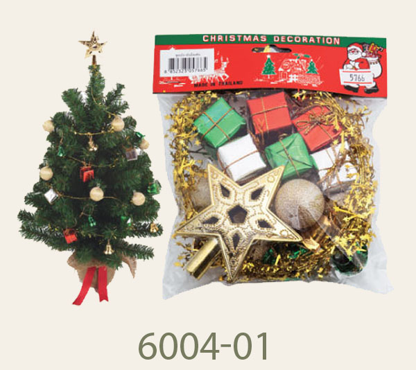 6004-01 Decoration set for 2-3FT tree